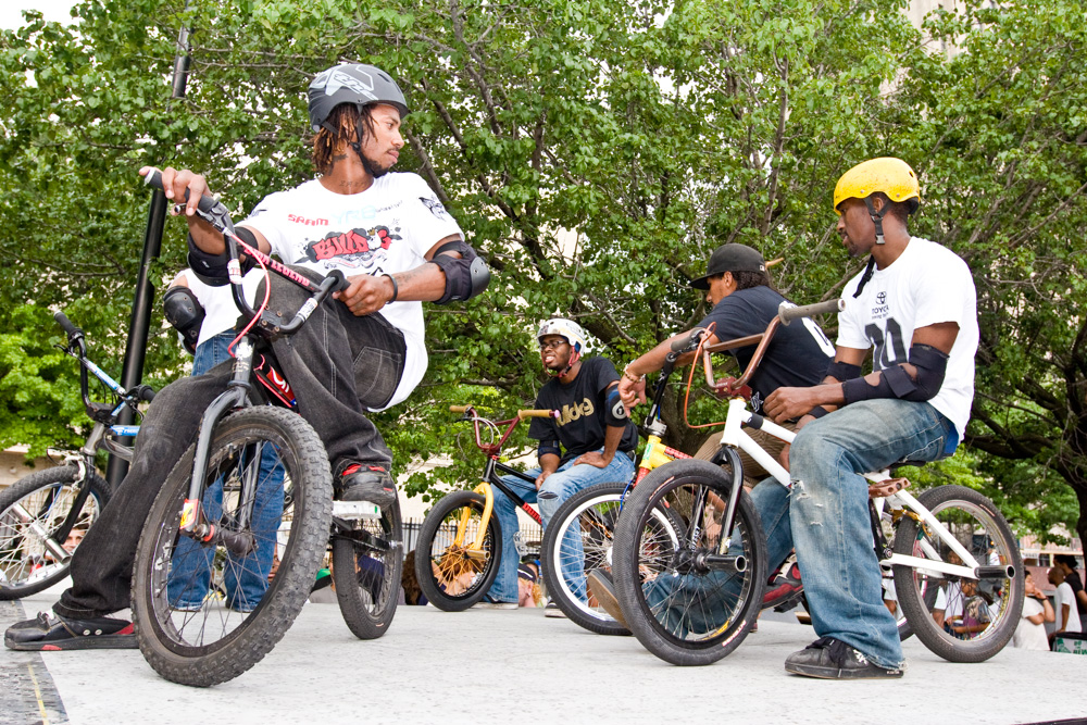 BMX Demos @ Afro-Punk festival July 5th performances