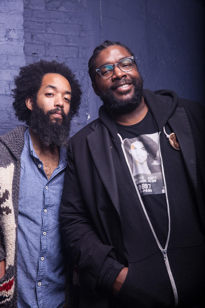 Wyatt Cenac and ?uestlove