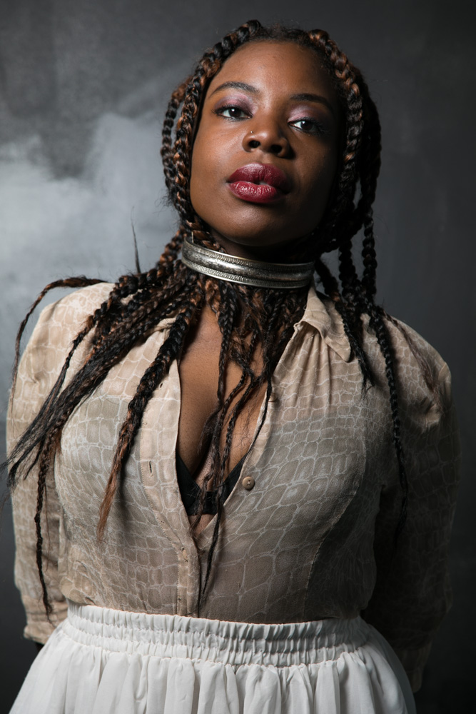 Melanie Charles, vocalist and flutist